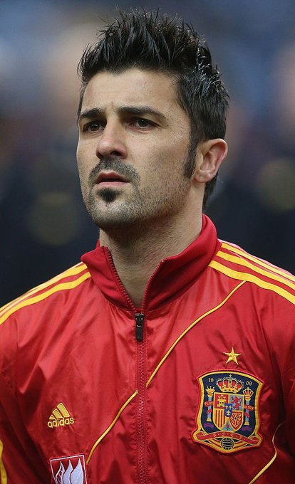 Happy birthday to David Villa. The former Barcelona and Spain striker turns 38 today.