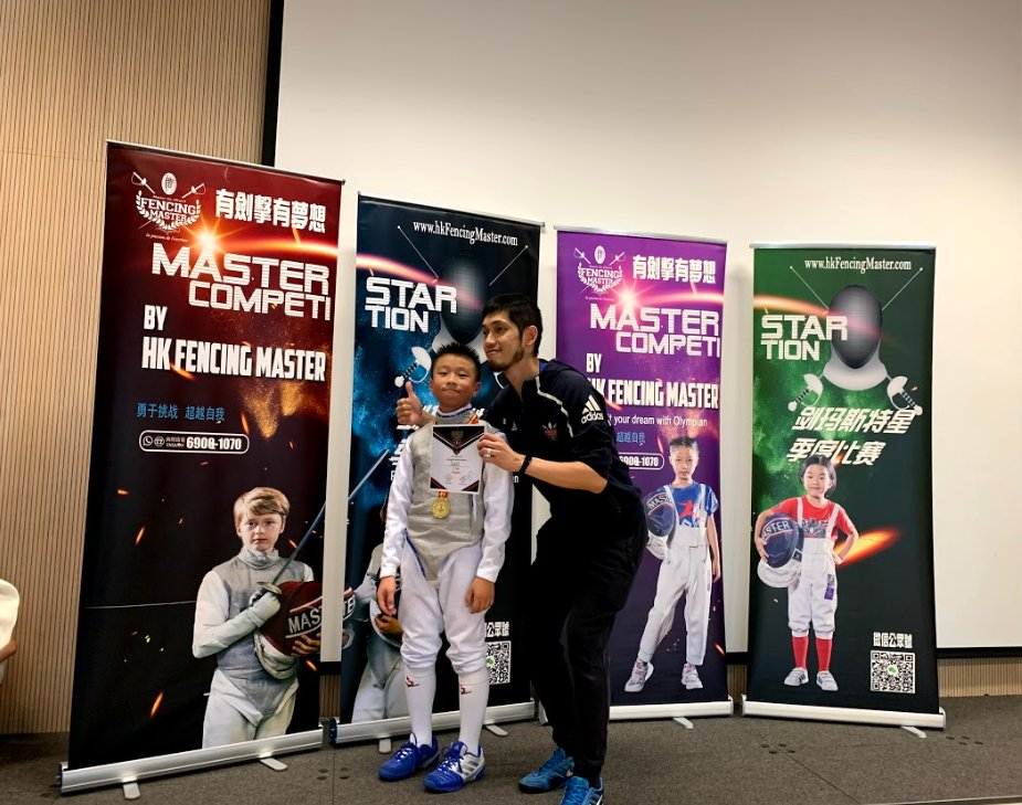 Congratulations to pupil, Daniel (Year 7, Banks) for winning gold at the Master Star Joint International School competition for the U11 Boys Foil!  @HKfencingmaster @HHKSBanks