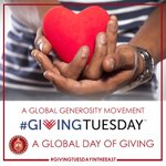 Image for the Tweet beginning: #GivingTuesday is the non-profit world's