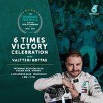 One more day to celebrate the 6 time victory guys! Are you ready to meet the Flying Finn, @valtteribottas! 🏆🎉🎊 Don't forget to join us this 4th December at PETRONAS Jalan Kolam Ayer, Ampang and participate in cool games and activities to win awesome prizes!  #6reatness