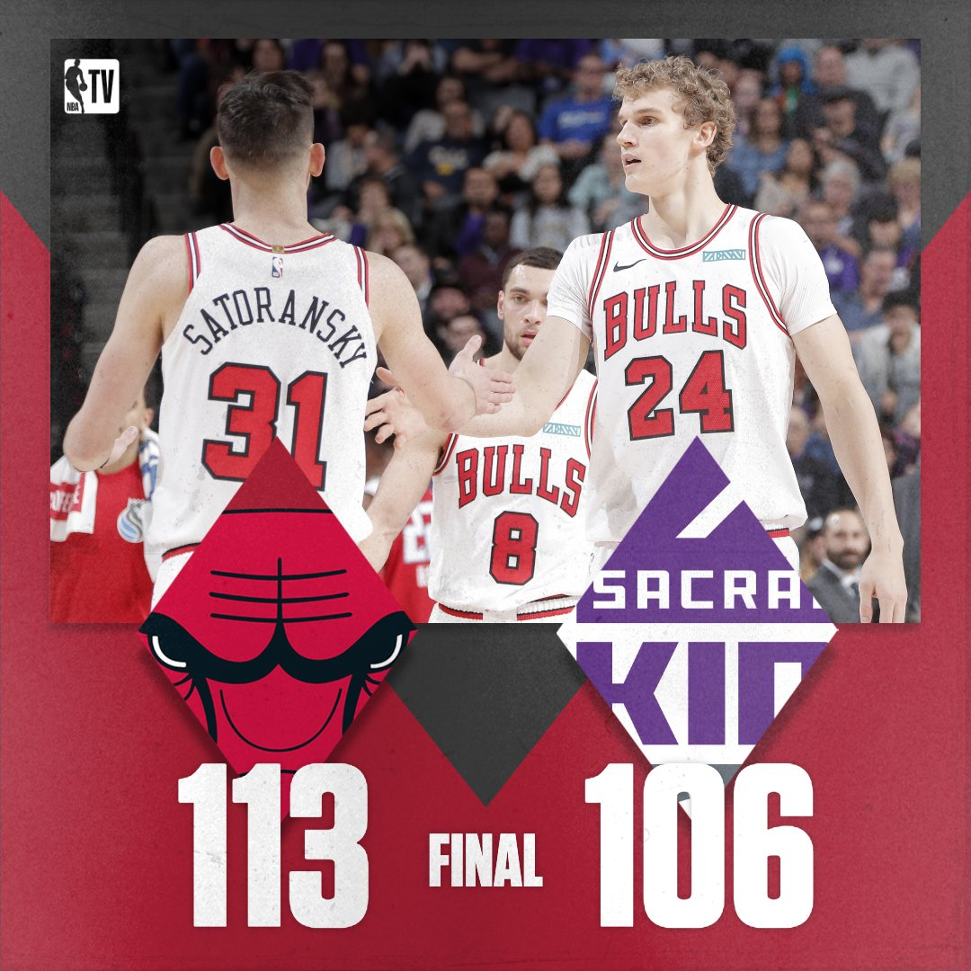 Chicago holds off a furious Sacramento comeback to secure the road victory!