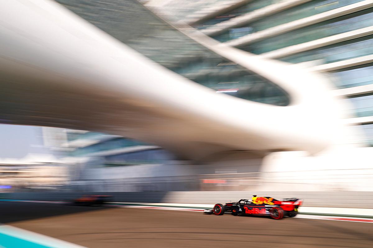 Here's who's driving @ymcofficial #F1testing today: Mercedes: Bottas, Ferrari: Vettel, Red Bull: Verstappen, McLaren: Norris, Renault: Ocon, Toro Rosso: Gelael (am) Kvyat (pm), Racing Point: Perez, Alfa Romeo: Raikkonen, Haas: Grosjean, Williams: Russell (am) Nissany (pm)