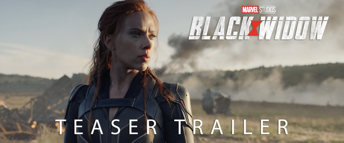 I'm done running from my past. Watch the new teaser trailer for Marvel Studios' #BlackWidow. In theaters May 1, 2020.