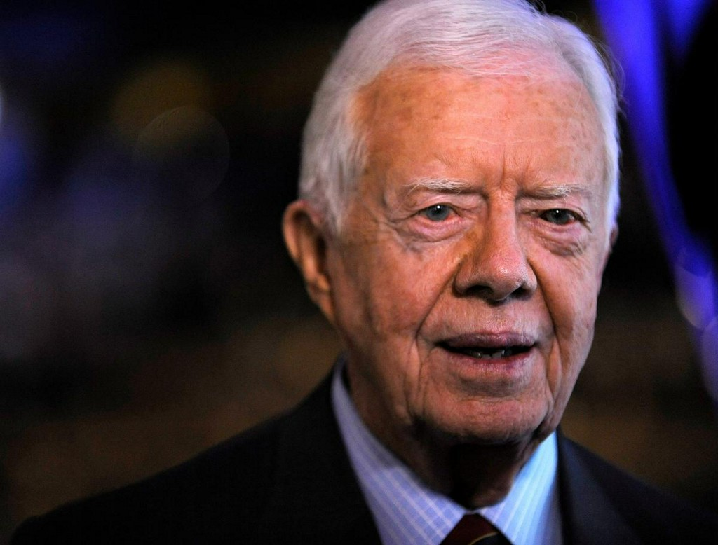 Former U.S. President Carter hospitalized in Georgia with urinary tract infection https://t.co/uDhjJZv8z7 https://t.co/7U87ISaLut