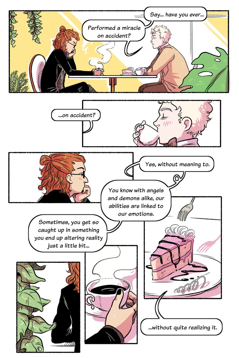 A little #goodomens comic about unintentional miracles.  <br>http://pic.twitter.com/QJixnI4weF