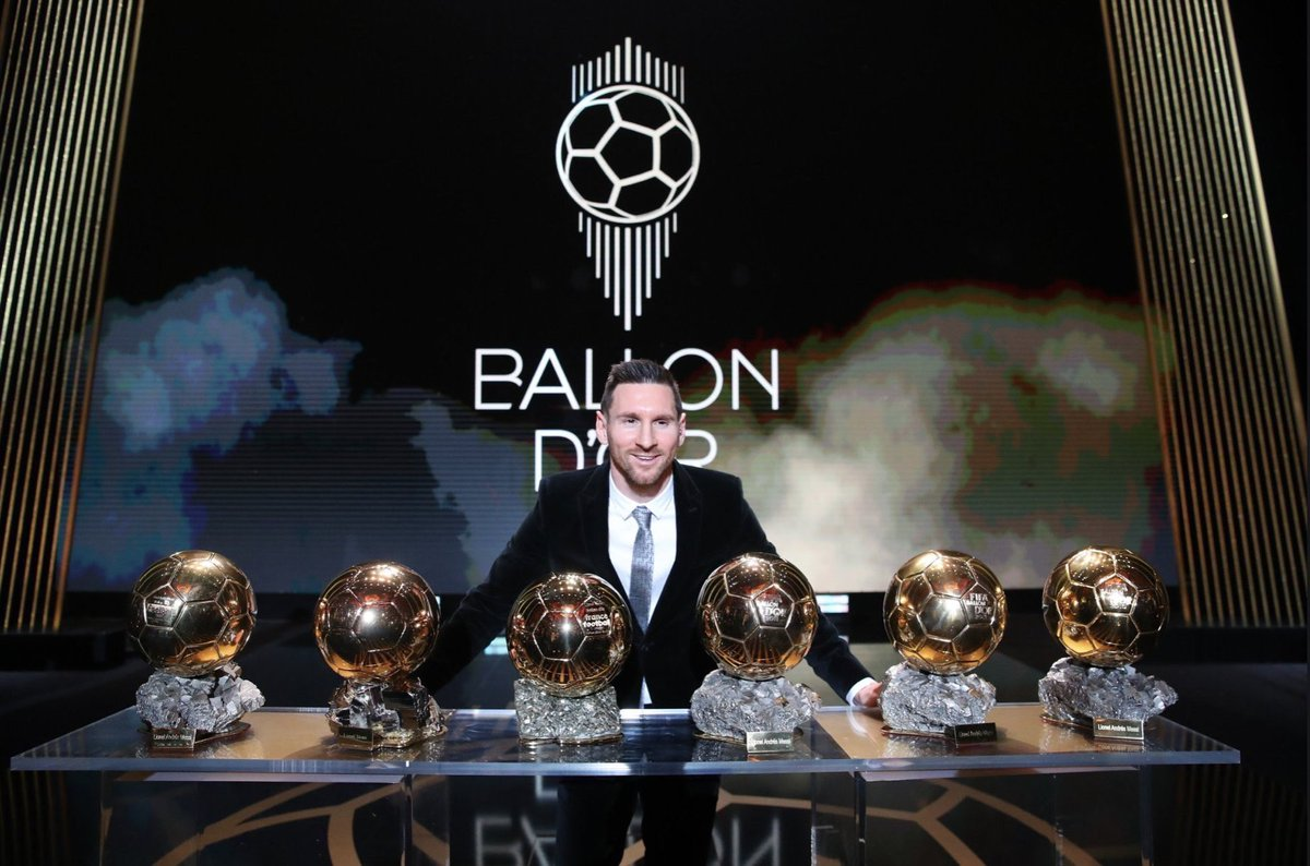 Congratulations! Idol You Deserves Every Award Exists In Football World  #Messi