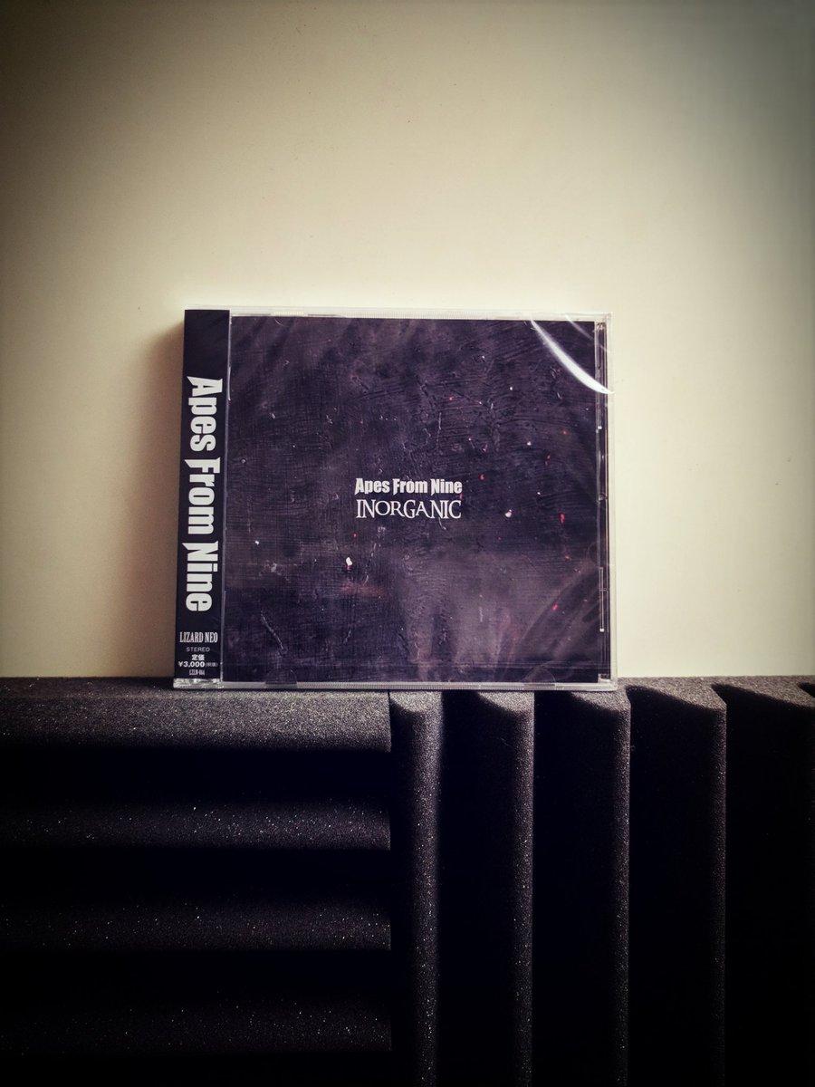 2ndアルバム【INORGANIC】手にしました!9月からの4連続リリース!色々厳しい中でデビューのGUILTYからからCDを作ってリリースしてくれたレーベルに感謝します!そして一人でも多くこのCDが広がるように活動!よろしく!