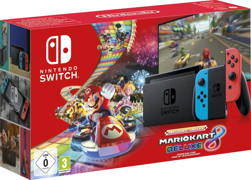 Nintendo Switch Mario Kart 8 Deluxe Pack Heading To Europe