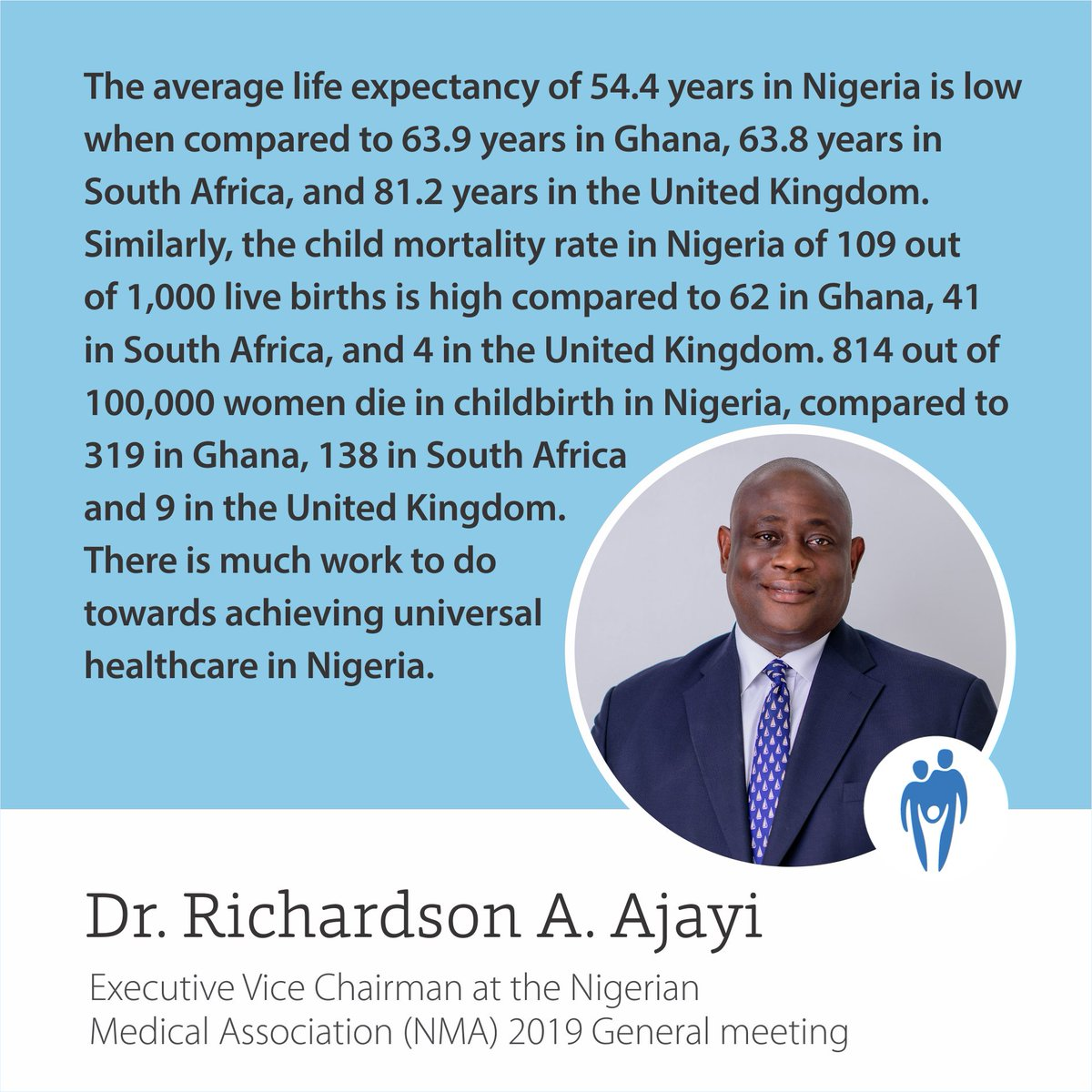 There is much work to do towards achieving universal healthcare in Nigeria #transforminghealthcaretogether https://t.co/BaUnLFXS0p