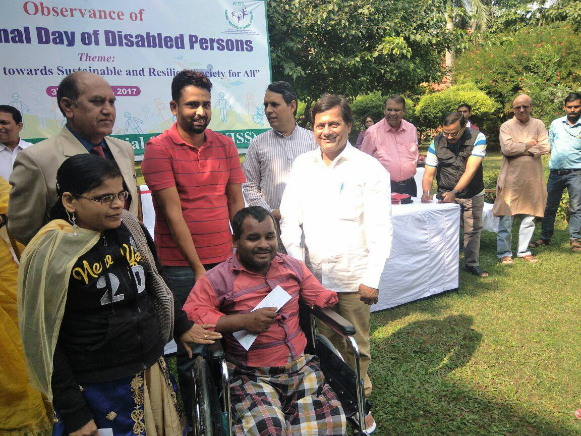 "This International Day for People with Disabilities lets pledge to make ""The Future Accessible for all. Lets create awareness that accessibility is not physical but bigger barriers are attitudinal barriers which prevent us from looking at a persons abilities."