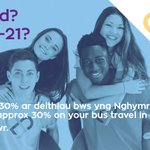 Image for the Tweet beginning: Save 30% on all bus