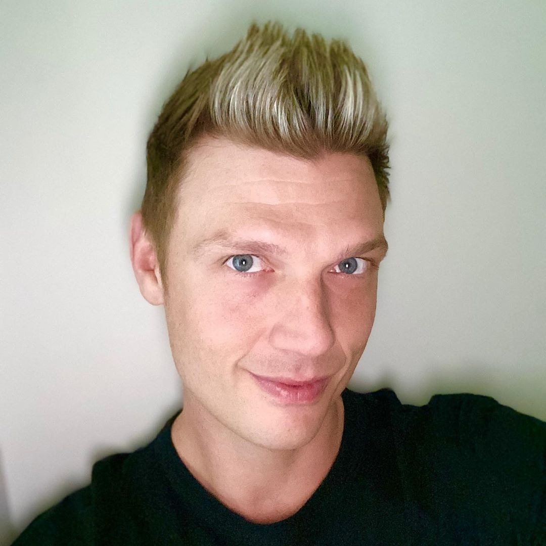 You're not getting old. You still look great ❤😘 @nickcarter  Reposted from @nickcarter (@get_regrann)  -  I'm getting old 😂 #selfie #almost40 #grateful #thankful  - #regrann