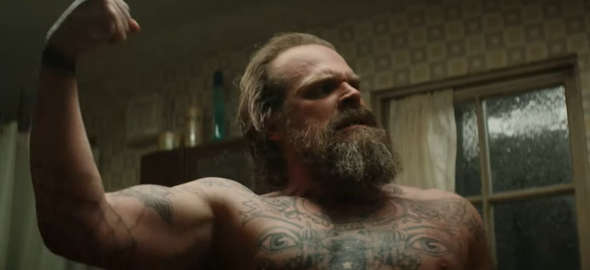 David Harbour- several points where made Sir