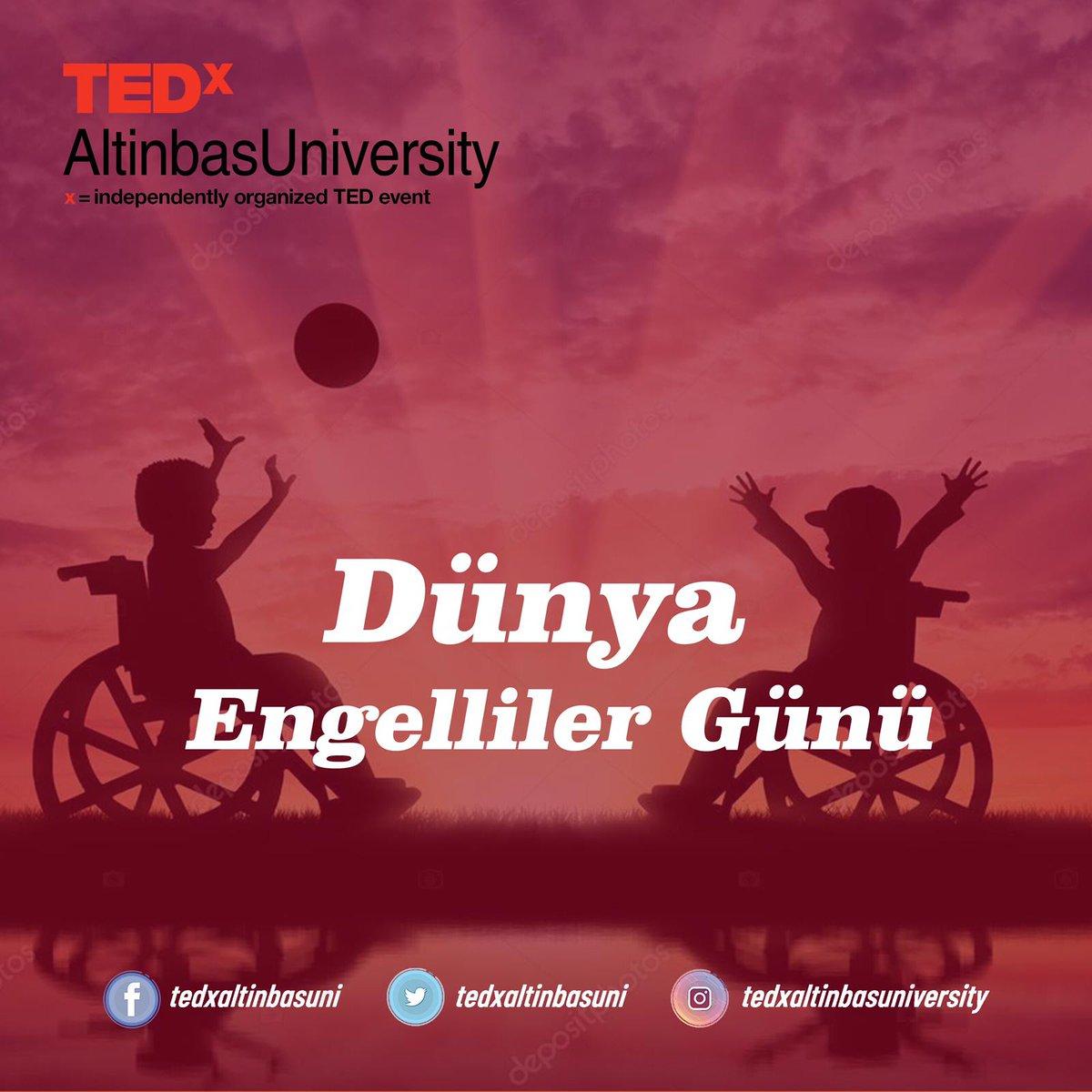 Engelleri kaldır, sadece bir gün değil her gün farkında ol! #3aralıkdünyaengellilergünü   #tedx  #tedxaltinbasuniversity    Tasarım ekibi: Seda Sönmez