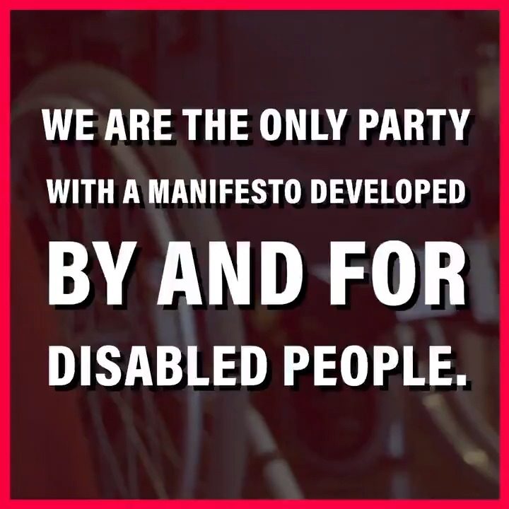 On #IDPD2019, we're launching our manifesto for disabled people, developed by and for them. A Labour government will make our society more inclusive, the benefits system fairer and support disabled people to reach their potential. #OnYourSide Read it here: labour.org.uk/breaking-down-…