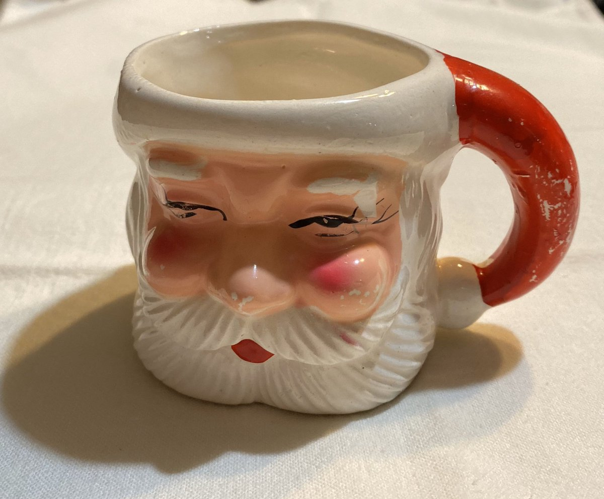 Vintagerocksautism On Twitter Excited To Share This Item From My Etsy Shop Vintage Santa Mug Vintage Christmas Display Crafts Gifts Https T Co Qabjcvddp1 Https T Co Me6s4igjzt