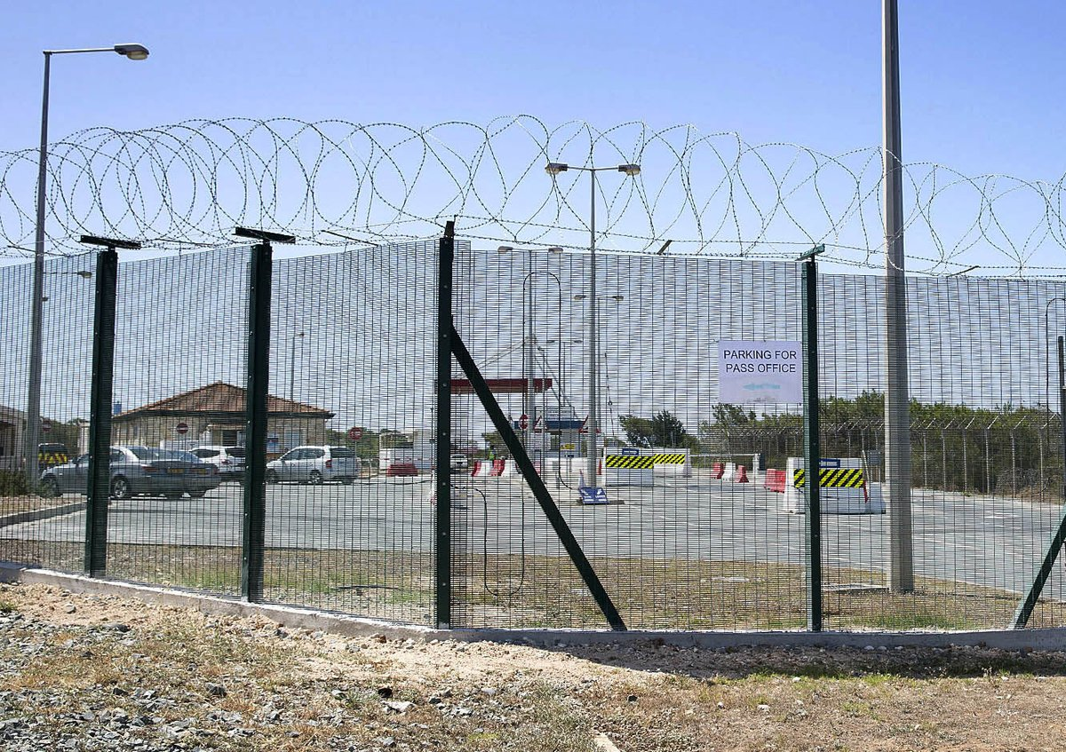 CLD #designed and #manufactured new #Military #Security Fencing for RAF Akrotiri when they needed to update their #perimeter #protection.  Read the full case study here: http://bit.ly/337GWoc   #PhysicalSecurity #PerimeterSafety #MilitarySecurity #SecureUnits