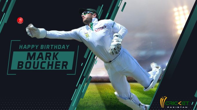 Happy Birthday to Mark Boucher, who holds the record for most Test dismissals by a keeper (555)
