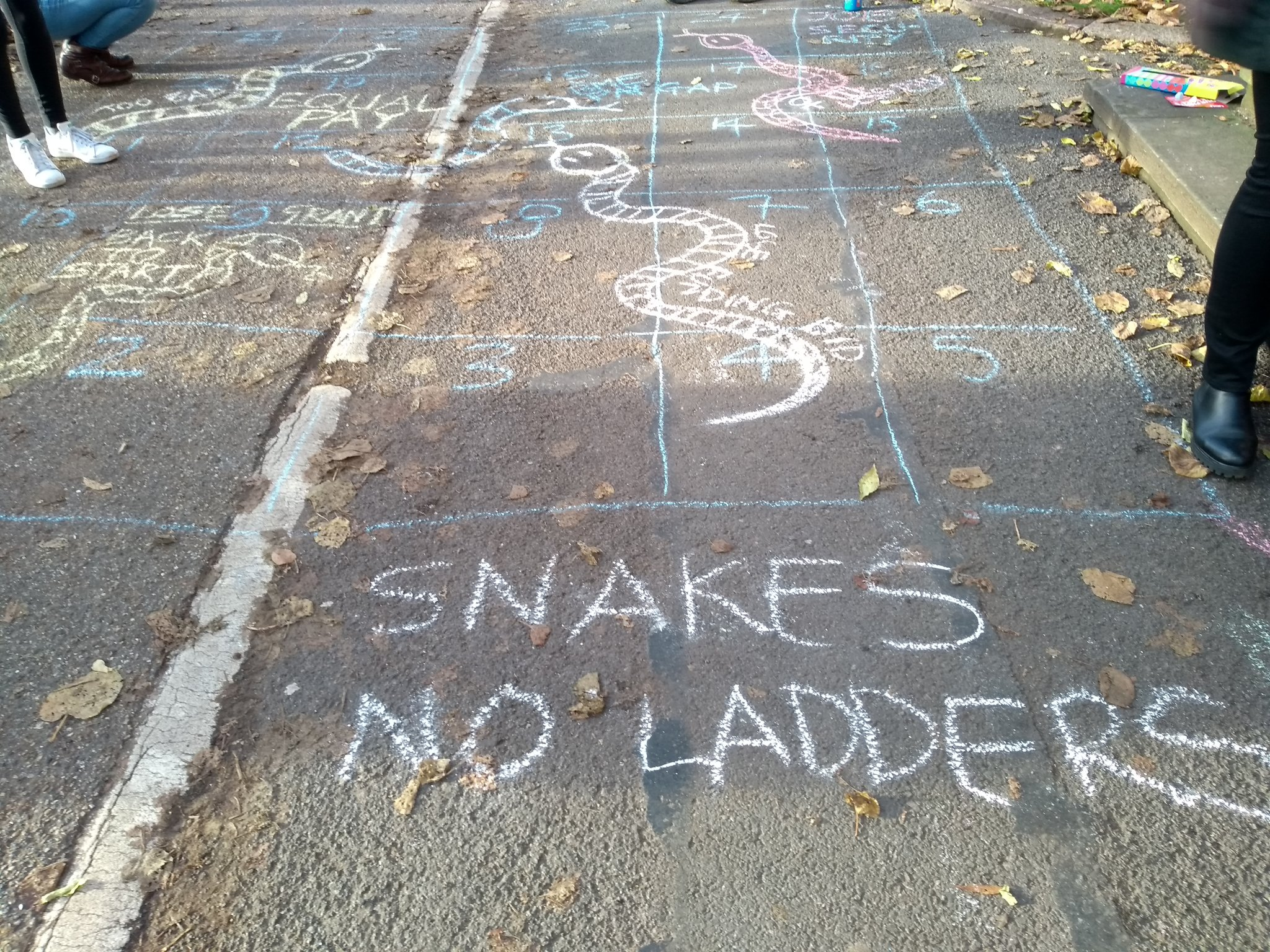 Tina Fawcett On Twitter We Are Playing Snakes No Ladders The Academic Job Security Variant Oxforducu Ucustrikesback Ucustrike