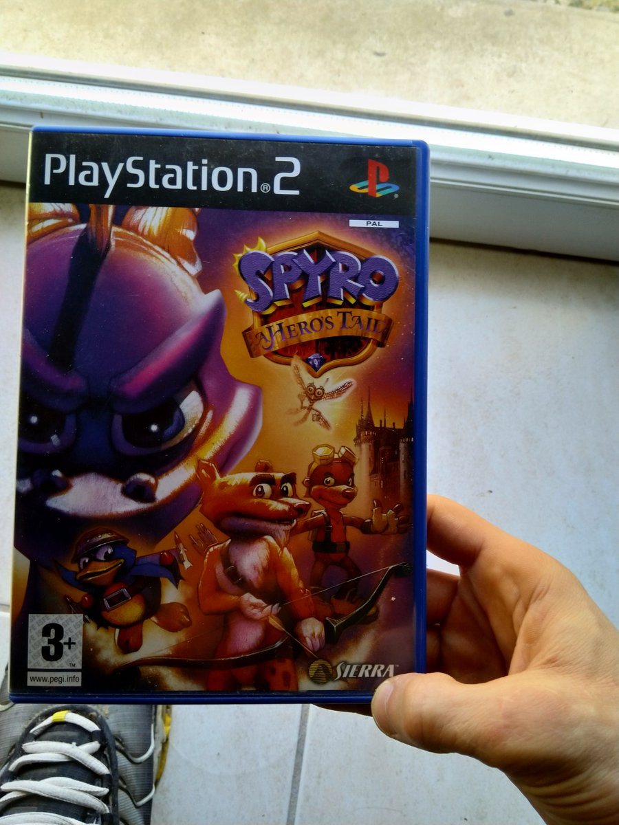 I totally forgot that i had this game  #SpyroTheDragon #SpyroReignitedTrilogy<br>http://pic.twitter.com/yREy2RZINr