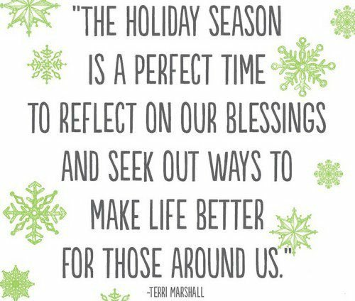 Reflect on your blessings. . .how can you bless others? #LoveLiteracyLearning