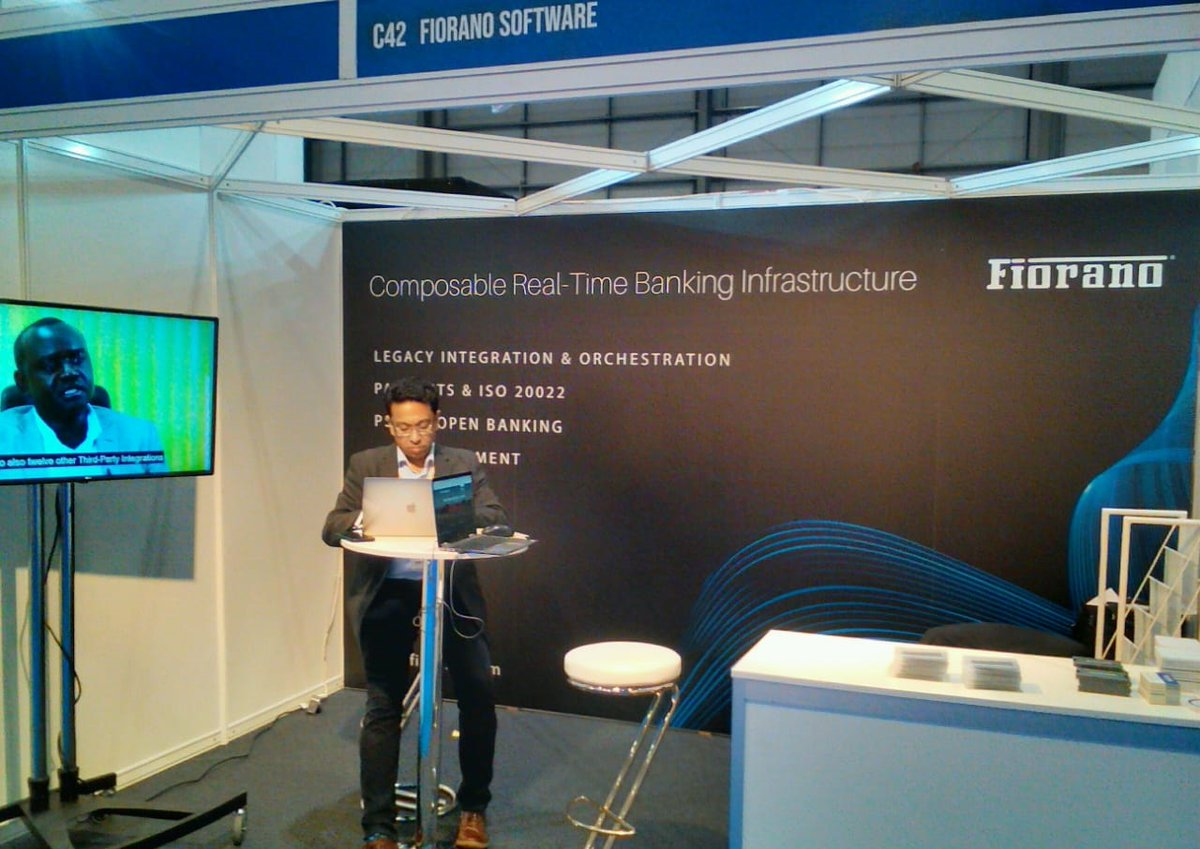 We are @fintech_connect, London today and tomorrow. Visit us at Stand C42 to explore Fiorano Composable Real-Time Banking Infrastructure to meet customer expectations, regulatory compliance and deliver fast, safe and effective services. #FTC19 #openbanking #digitalbanking