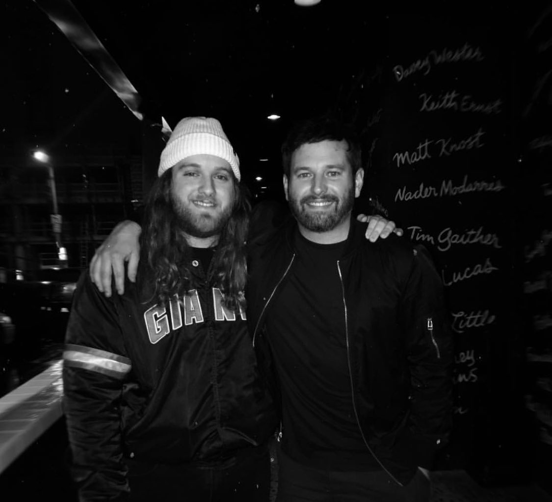 Reminiscing on 11/21/'18 when i met @BrentMorin and how he was such a cool guy and followed my band on Instagram, and entertained a real conversation last year! He's killing it on a Netflix show that came out this year! #MerryChristmasWhatever is a fun one for everyone!