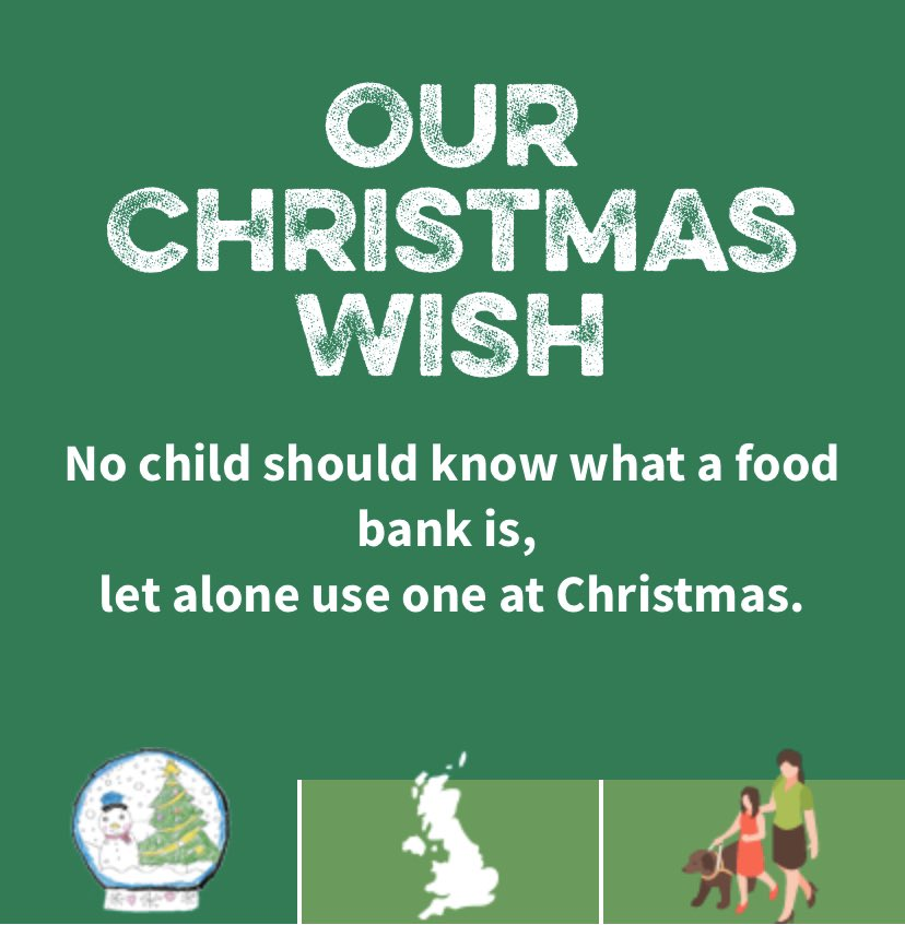 From one TT to another... We are supporting @TrussellTrust this Christmas. Please check out  to see how you can help stop the scandal of hunger in the UK.