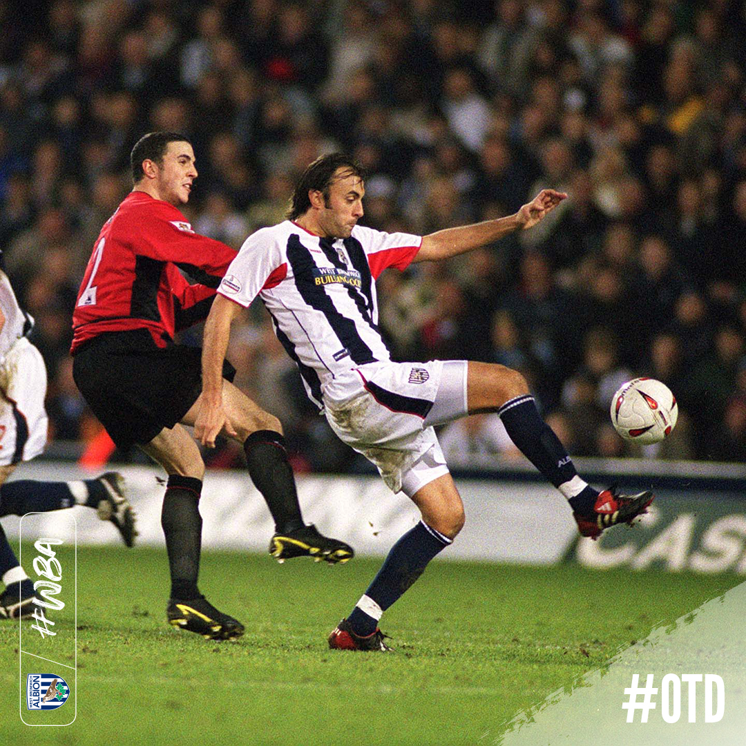 A famous night at The Hawthorns #OTD in 𝟮𝟬𝟬𝟯. 🗓😍