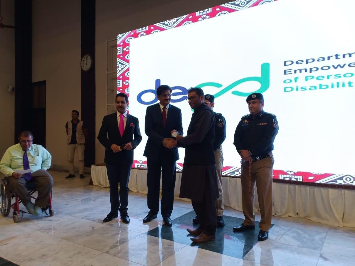 On this International Day of People with Disabilities, I am proud #Sindh is leading the movement for a more inclusive and empowered province, for the differently abled. 1st Driving license given to Deaf person in Sindh today. A real breakthrough, and a first for Pak. #IDPWD2019