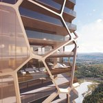 Image for the Tweet beginning: Une tour de 48 étages