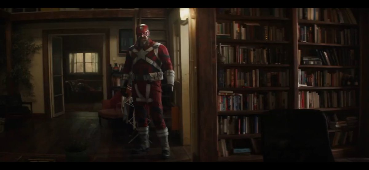 Me when I saw #DavidHarbour as #RedGuardian in that #BlackWidowTrailer