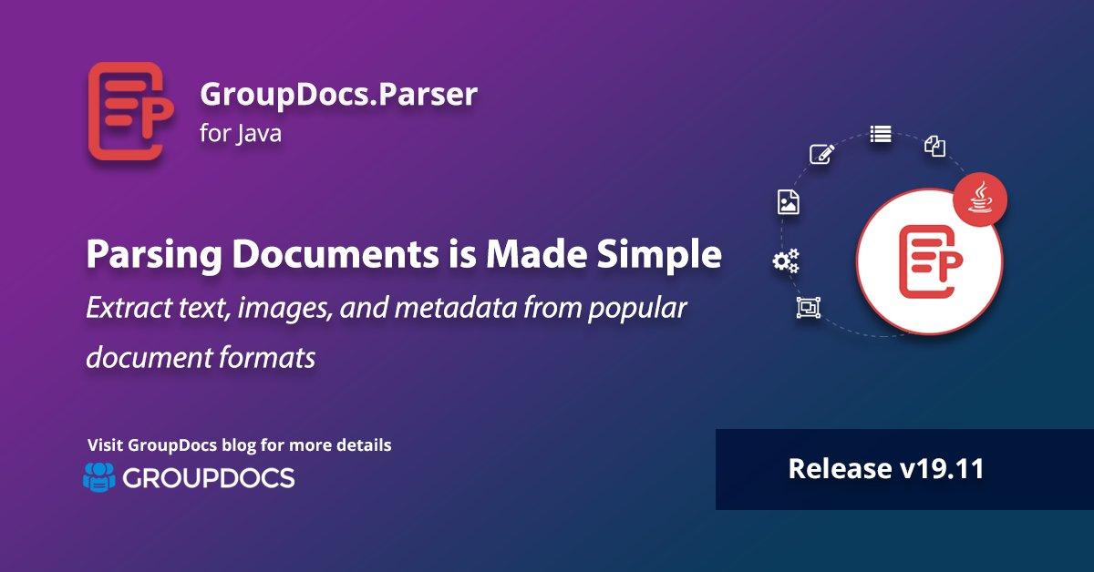 Groupdocsmetadata Java API (Overview, Documentation