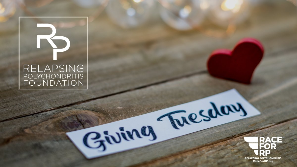 Join us in supporting the Relapsing Polychondritis Foundation on #GivingTuesday. @RPASF_Official #GivingTuesday2019 #RaceforRP #DrivingAwareness #AcceleratingResearch #RelapsingPolychondritis #CanforRP @Polychondritis  Click here to show your support, https://t.co/5GcidVK11X