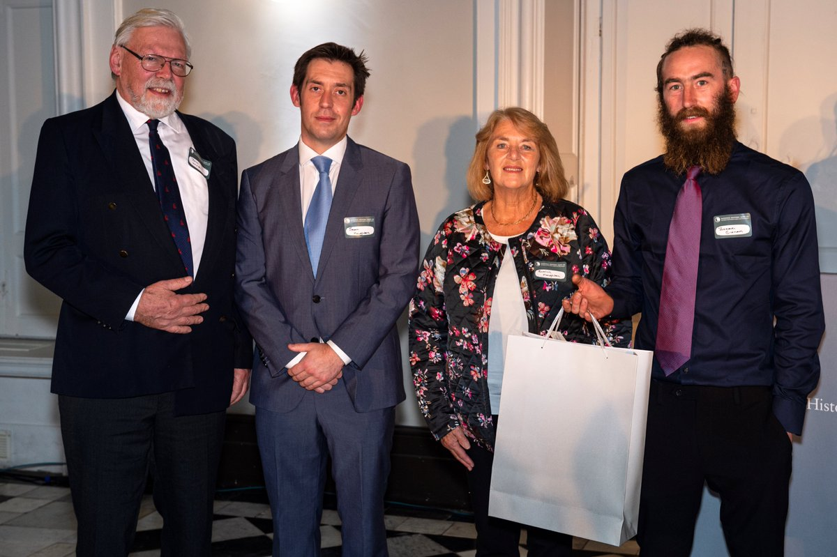 Last week NHS-UK celebrated maritime heritage at our annual Awards Ceremony in Greenwich. Highly Commended for the Martyn Heighton Award for Excellence in Maritime Conservation were The Excelsior Trust @ExcelsiorLT472 Full list of winners: tinyurl.com/tdu6zou