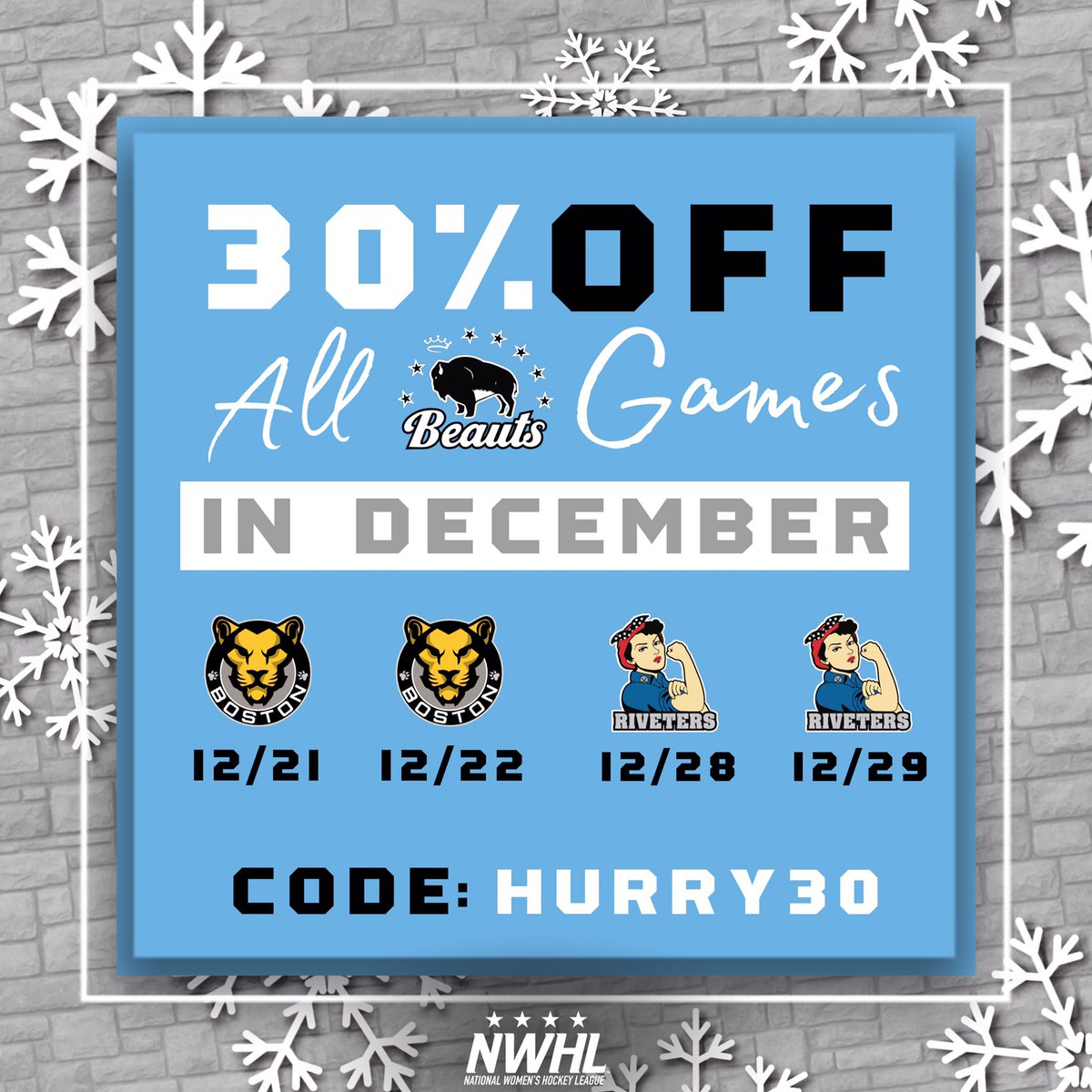 @BuffaloBeauts's photo on TODAY ONLY