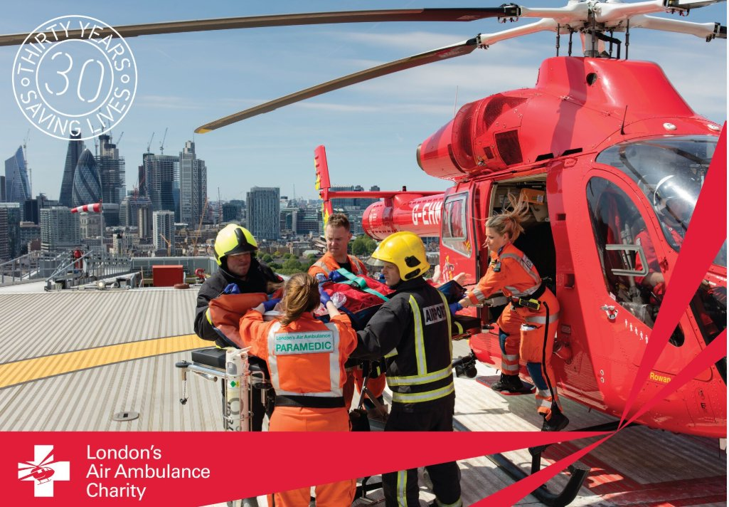 Today is #GivingTuesday - the day to make a difference. We are proud to work with charities and organisations including @TowerRNLI who save lives on the river, with @LDNairamb helping the most critically ill and injured patients and @stjohnambulance at events. #CharityTuesday
