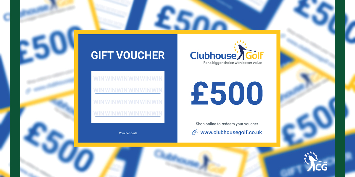 🎁 WIN 🎁 #golfsBIGGESTgiveaway Day 1 👉 Like, RT & follow us for a chance to win. Prize - £500 Clubhouse Golf Voucher 📲 Enter on our IG/FB too! 📲 Winners are drawn from Twitter or IG or FB on 05/12/19 https://t.co/zgAxTgsI6Q
