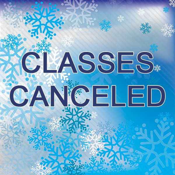 All higher education and continuing education classes are cancelled today (12/3) at Northeast Maritime Institute.