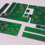 Image for the Tweet beginning: Our first pcb order for