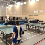 Image for the Tweet beginning: Our Y8 table tennis team