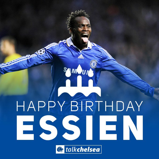 Happy Birthday to Michael Essien, who turns 37 today!