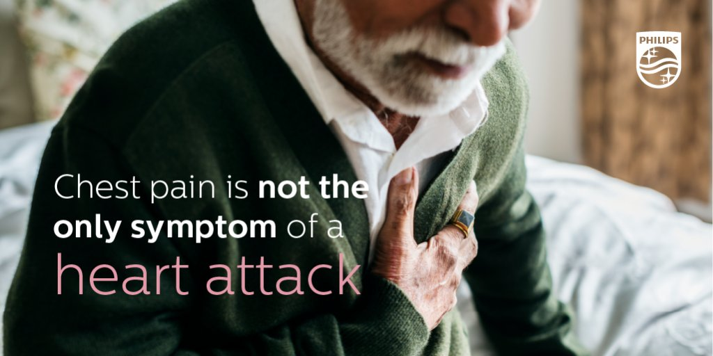 All hearts are different, and so are heart attack symptoms. Can you name any 'subtle signs' of a heart attack? #PhilipsTranslates https://t.co/lADkJ8XplX