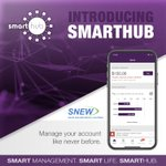 Our SmartHub app is here!. You can now manage your account, view and pay your bill, monitor your usage 24/7, report service issues, and receive important notices all in the palm of your hand and on our web portal! Download the free app today at https://t.co/kLK748Z7Wh