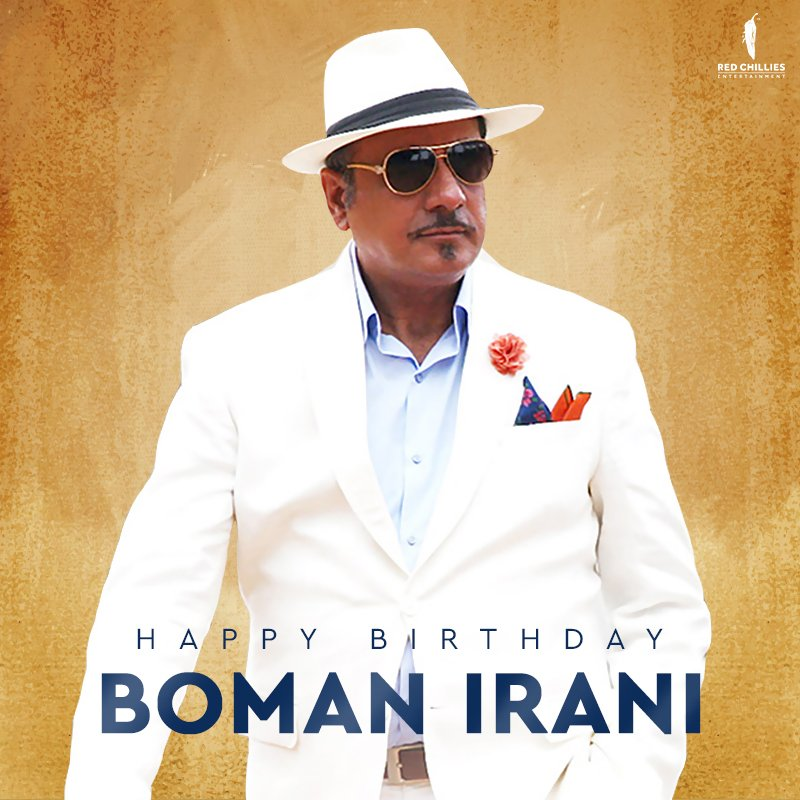 The one who brings out the fun in funny! Here's wishing @bomanirani a very Happy Birthday.   #HappyBirthdayBomanIrani