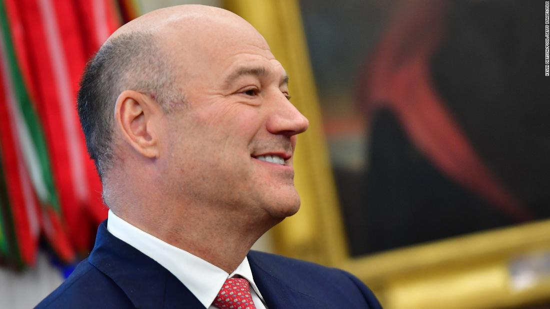 Former White House economic adviser Gary Cohn says hes concerned no one is left in White House to challenge President Trump cnn.it/2Y9pRcA