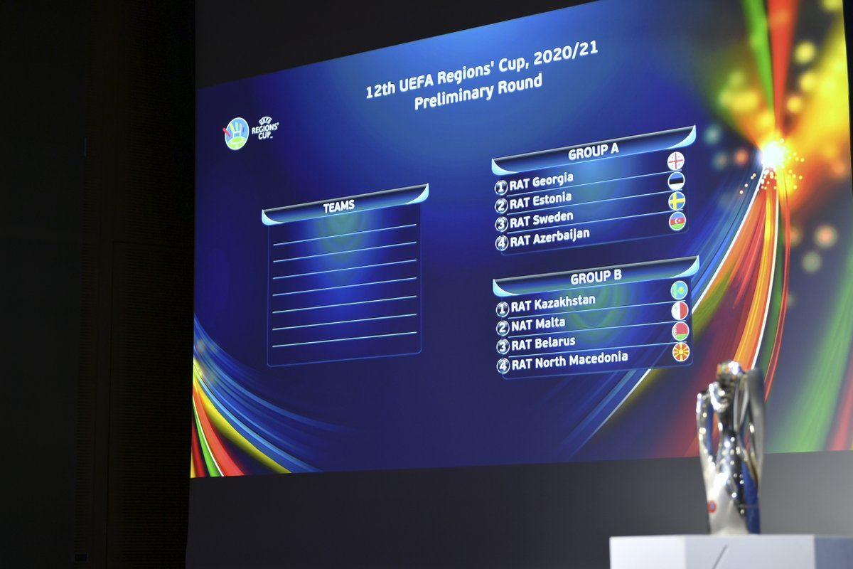 The road to the European amateur finals🏆  See the draw for the 2020/21 #RegionsCup 👇👇👇 https://t.co/SJrGKfORi4 https://t.co/7vyAHukHKd