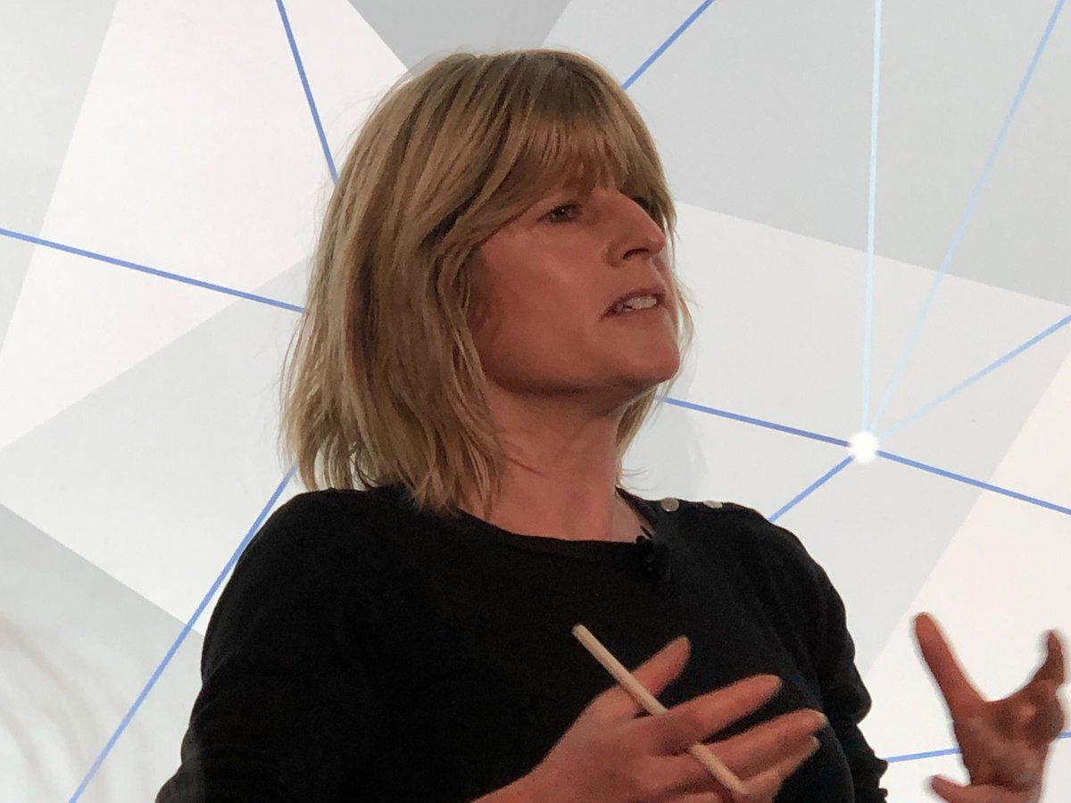 UK PM's sister @RachelSJohnson warns at #edelmancb that tectonic shifts of power across government/parliament/law courts/monarchy looming if Tories win election. Could the PM remove the Queen, she even asked. Implied in Tory manifesto. Real examples of future #unthinkables?