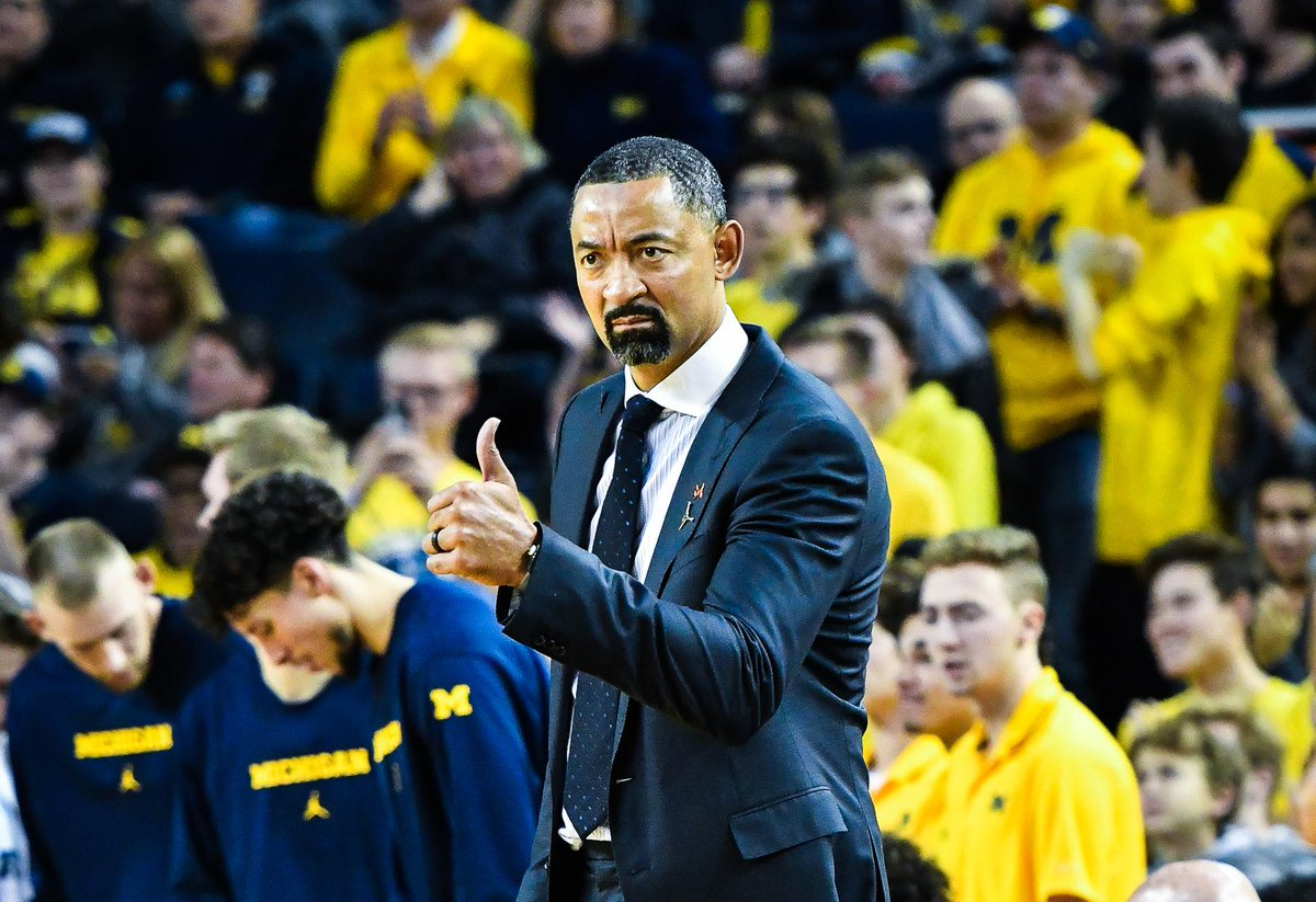 Juwan Howard and Michigan have been on a rampage to begin the season 😈 📈 Started the season unranked 📈 Defeated No. 6 North Carolina 📈 Blew out No. 8 Gonzaga 📈 Won the Battle 4 Atlantis Tournament 📈 Climbed to No. 4 in the AP Top 25 Tonight they face No. 1 Louisville.
