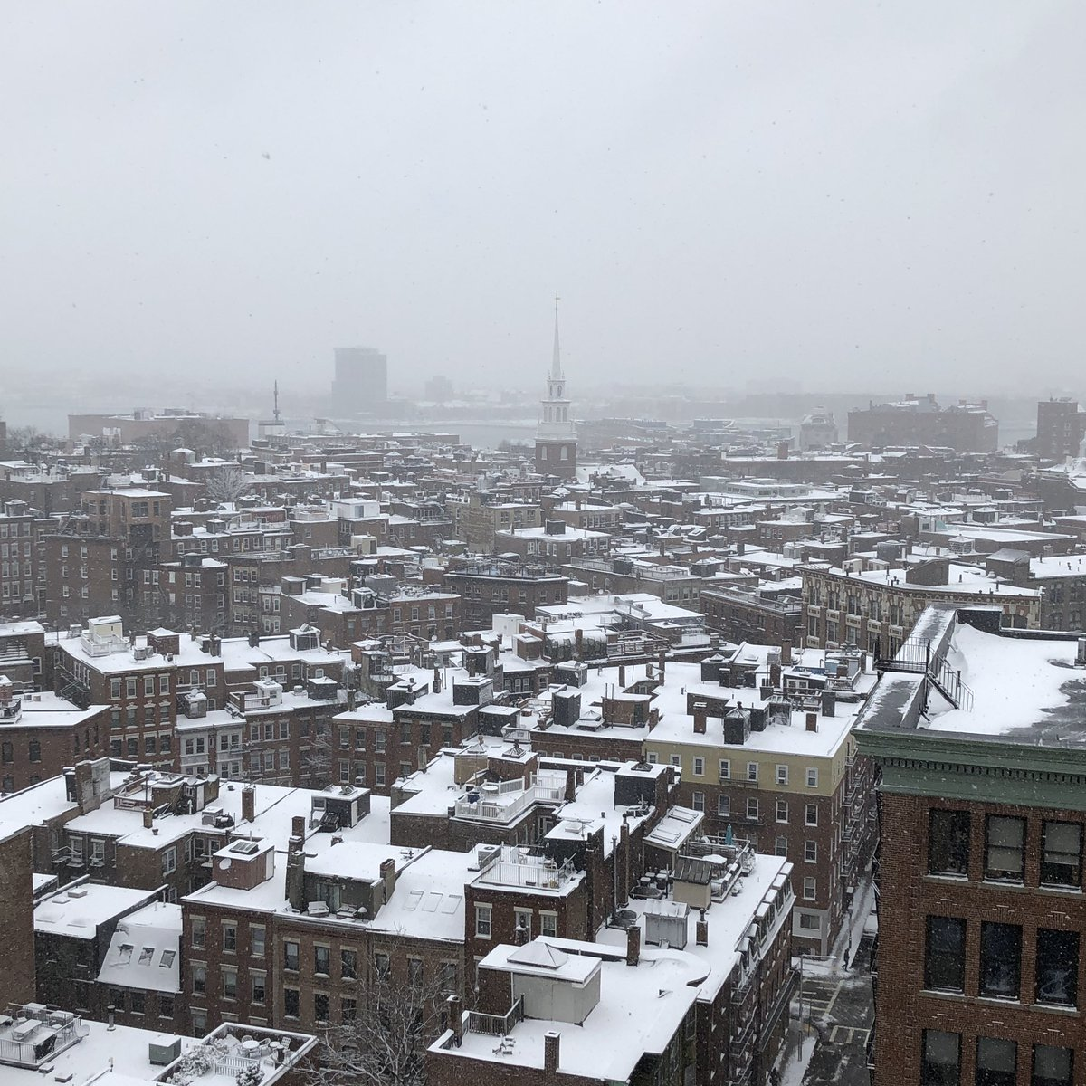 Snow Day in the North End